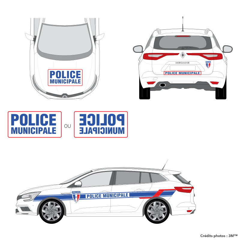 3M™ - Kit Police Municipale - VL