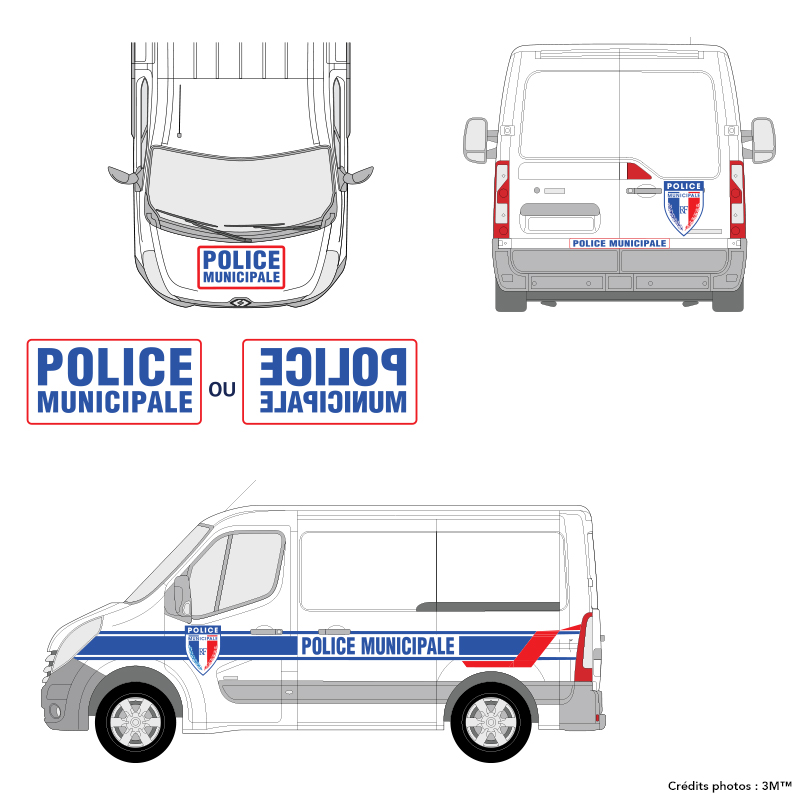 3M™ - Kit Police Municipale - VU